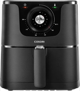 COSORI Air Fryer 5.5L with 30 Recipes Cookbook   Air Fryers for Home Use with Dual Knob Control 60 Minute Timer&Temperature  Nonstick Basket for Healthy Oil Free or Low Fat Cooking 1700W