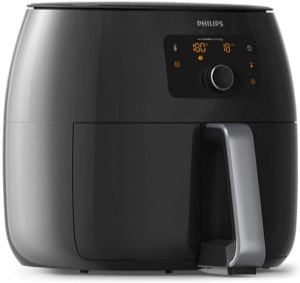 Philips Premium Collection XXL Airfryer with Fat Removal Technology and Extra Large Size for Entire Family  2225 W  1.4 Litres  Black  HD9650/99