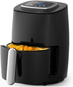 Pro Breeze 2L Air Fryer 1000W with Digital Display  Timer and Fully Adjustable Temperature Control for Healthy Oil Free & Low Fat Cooking